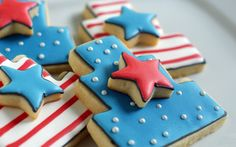 Bridget Edwards is the author of Decorating Cookies: 60+ Designs for Holidays, Celebrations & Everyday. Once you've mastered the cute and clever designs in the book, get more of Bridget's crafty baking at her blog, Bake at 350. Show your patriotic colors this 4th of July with red, white, and blue cookies!  Projects range from [...]