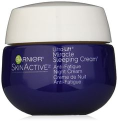 SkinActive Miracle AntiFatigue Sleeping Cream ** Want additional info? Click on the image.
