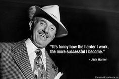 ~Jack Warner