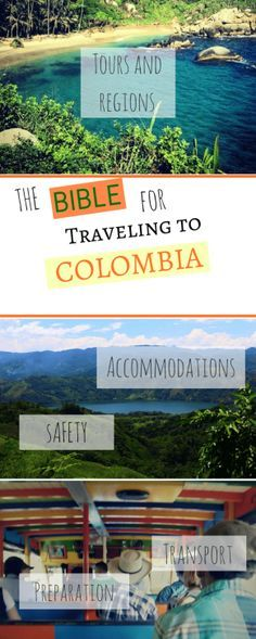 Plan a trip to Colombia. The bible for backpacking in Colombia. What do you need for Colombia: Accommodation in Colombia, tips for Colombia, Is Colombia safe? Food in Colombia, culture in Colombia, What kind of transportation, best hostels