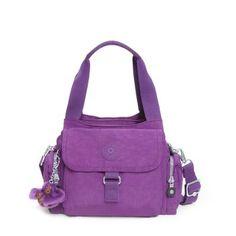 Kipling Women's Felix Large Handbag One Size Lilac Dream Purple Kipling Handbags, Kipling Bags, Best Handbags, Large Handbags, Vintage Handbags, Small Umbrella, Satchel, Crossbody Bag, Girls Bags