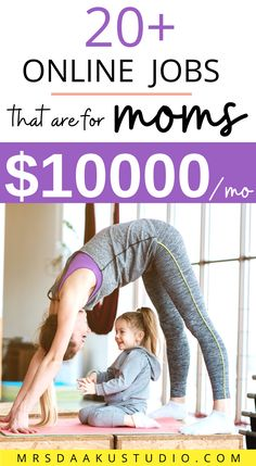 MAKE MONEY AT HOME FOR MOMS. stay at home mom jobs to make money from home. These job ideas can be side hustles or you can turn them into flexible careers! Great ways for moms to earn an income AND afford to be stay at home moms. Stay At Home Mom, Work From Home Moms, Make Money From Home, How To Make Money, Legit Online Jobs, Online Jobs From Home, Work From Home Options, I Need A Job, Earn Money Online Fast