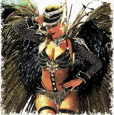 Desktop Clock, Carnivals, Art Posters, Samba, Traditional Art, Brazil, Stars, Artwork, Prints
