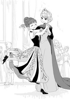 Disney Fan Art, Disney Frozen, Disney Pixar, Frozen Movie, Elsa Frozen, Frozen Anime, Frozen Comics, Freezing Anime, Frozen Drawings