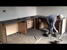 Creating a Custom Concrete Sink Mold out of MDF - GFRC - Glass Fiber Reinforced Concrete Concrete Sink Molds, Diy Concrete Counter, Concrete Kitchen, Home Decor Kitchen, Kitchen Interior, Cooking Photography, Cooking For Beginners, Reinforced Concrete, Küchen Design