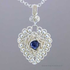 Tutorial: Tangled Love Pendant by shaktipaj | JewelryLessons.com