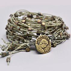 Free Linen Wrap Bracelet Project Tutorial | Odyssey | Beadshop.com