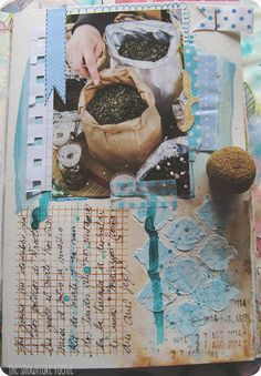 The Snowflake Faerie: Art Journal Every Day