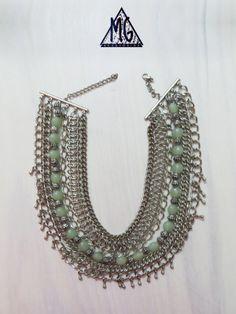 Collar METALLICA VERDE
