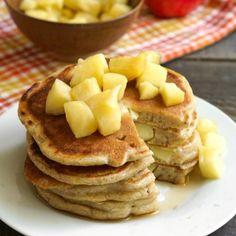 #delicious Gluten Free Apple Pancakes #foodie