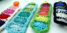 Felted Button - Colorful Crochet Patterns: :: Free Crochet Pattern--Granny Cuff::