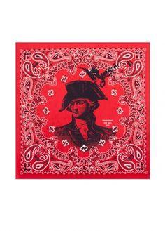 Life:Curated : Anniversary Bandana - AC0305c - red