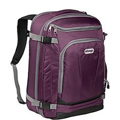 I love this bag. It is great for a weekend or a week and is truly the bottomless bag of holding. Watch the YouTube video to see all of the compartments. TLS Mother Lode Weekender Junior - Eggplant - via eBags.com!