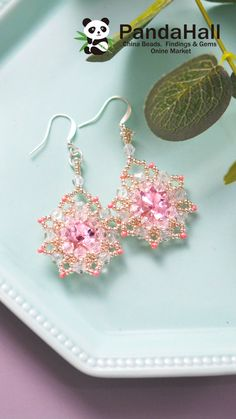 Diy Clay Earrings, Crochet Earrings, Bead Weaving, Creative Photography, Diy Tutorial, Seed Beads, Beaded Jewelry, Jewelry Accessories, Arts And Crafts