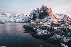 No matter what the season, he's happy to explore even the most remote of places, like the ...