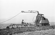 electric experimental tractor