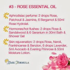 Rose Essential Oil -  www.fb.com/HealingLotusAromatherapy