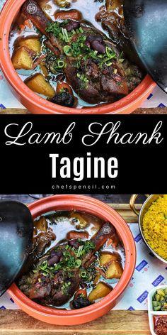 Moroccan Lamb Recipe, Moroccan Tagine Recipes, Moroccan Dishes, Moroccan Food Recipes, Turkish Recipes, Lamb Recipes, Chef Recipes, Cooking Recipes, Healthy Recipes