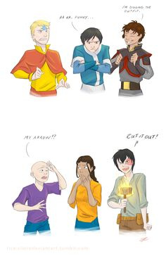 Fun crossover of percy jackson and his friends and Aang and his friends. Both characters from their world share the same elemental powers.