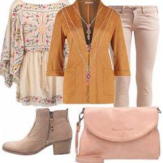 Voglia+di+colore+e+di+vestiti+casual!+Vestitino+extra+corto+con+scollo+a+barca+e+cuciture+floreali.+Possiamo+decidere+di+indossare+solo+il+vestito+oppure+abbinare+un+pantalone+nude,+blazer+tobacco+brown,+tronchetti+in+pelle,+borsa+a+tracolla+rosa+chiaro,+collana+con+vari+fili.+Per+splendide+passeggiate+ma+anche+per+l'ufficio!