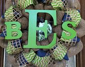 Custom Baby Shower Wreath