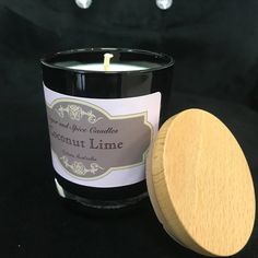 Sugar and Spice Candles Candle Shop, Candle Jars, Candles, Sugar And Spice, Spices, Lime, Fragrance, Herbs, Business