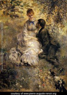 The Lovers  Pierre Auguste Renoir