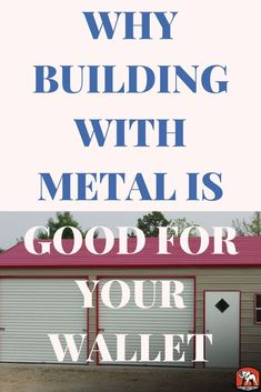 Ways to save money and live better by building metal carports and garages. Storage Sheds, Built In Storage, Garage Storage, Metal Carports, Metal Garages, Building A Garage, Carport Designs, Metal Buildings