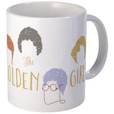Golden Girls Minimalist Mugs on CafePress.com