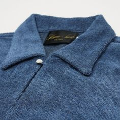 Japan's wonderful Haverack label introduce their terrytowelling shirt for SS15 | £145