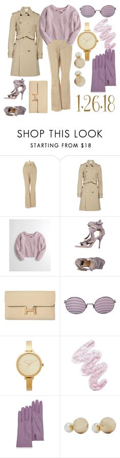 """""""1.26.18"""" by ccatprvncess ❤ liked on Polyvore featuring Ann Taylor, ADAM, Hollister Co., ISLO, Hermès, Fendi, Michael Kors, Lime Crime, Forzieri and Kenneth Jay Lane"""