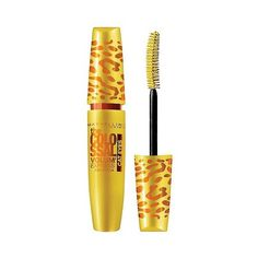Maybelline Volum' Express The Colossal Cat Eyes Washable Mascara  Glam... (150 UYU) ❤ liked on Polyvore featuring beauty products, makeup, eye makeup, mascara, oil free mascara, maybelline eye makeup, eye makeup remover, maybelline mascara and maybelline