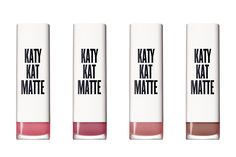 CoverGirl Colorlicious Katy Kat Matte Lipstick We're pretty much into anything Katy Perry is involved with, and her CoverGirl collaboration is no different. The matte formulas are particularly legit—they're extremely long-lasting—and the color range is impressive. (Perry convinced the brand to create its first black lipstick.) Oh, and the shade names are epic. Our favorite: Kitty Purry.