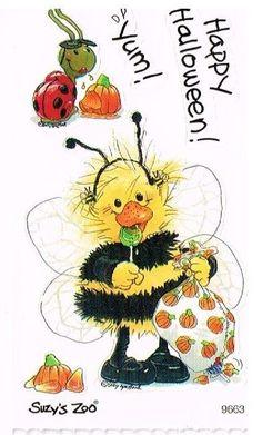 Suzy's Zoo Halloween Scrapbooking Sticker 9663 1 Sticker | eBay