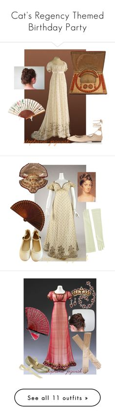 """""""Cat's Regency Themed Birthday Party"""" by stephanie-jozwiak ❤ liked on Polyvore featuring Topshop, Hillary Thomas Designs, Melissa, Dents, Etro, French Sole FS/NY, Kaliko, Xhilaration, Touch Ups and Frye"""