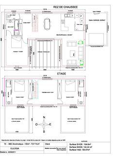 Maison contemporaine - Plain pied - de 130 m2