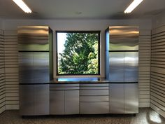 Stainless Steel Cabinets for your garage