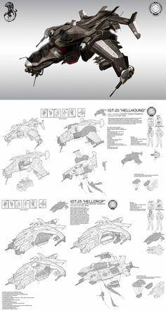 helldiver hellhound gunship by ~StTheo on deviantART