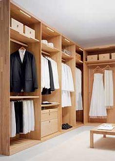 Modern Walk In Closet by Team 7 Image 400