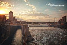 Minneapolis Sunset by Carrie Bayless on the CMpro Daily Project, a group photography blog for photographers
