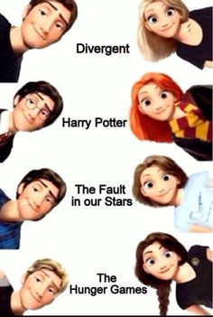 Tangled Main Characters Remix Fandom Edition