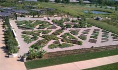 Gorgeous view overlooking Powell Gardens' Heartland Harvest Garden (photo by Thoroughbred Ford)