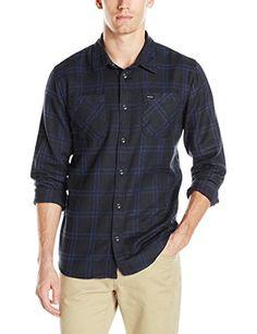 RVCA Men's Payne Ii Long Sleeve Woven Shirt, Black, Mediu... https://www.amazon.com/dp/B01F3DBSLS/ref=cm_sw_r_pi_dp_x_Yf4pyb3AYQR5E