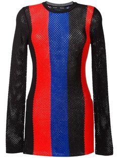 Shop Proenza Schouler striped mesh jumper.