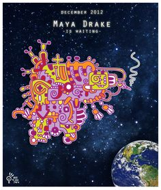 #Maya drake is waiting. #mayarrendersi alla #finedelmondo !