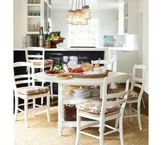 Dining Rooms On Pinterest Pottery Barn Dining Tables