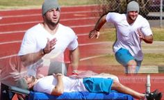 Tim Tebow working out in AZ (January 2013)