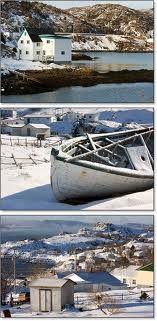 winter on the island