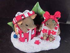 Charming Tails ALL I WANT FOR CHRISTMAS IS YOU Ltd Ed 98/263 Mice