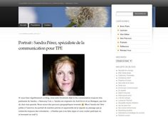 Mon portrait par Isabelle Prigent, consultante en communication. #harmonycom #sandraperez #communication #interview
